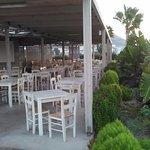 Bar de la piscine et restaurant du midi