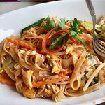 Vegetarian Pad Thai from the Lunch Menu