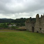 Part of Chepstow Castle and grounds