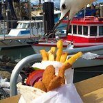 Be quick before the seagull gets your chips!