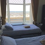 Twin room with a sea view