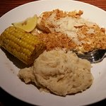 tilapia,potato, corn