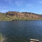 Spent the afternoon at Lake Saguaro fishing. Your inclined you can rent boats at the ships store