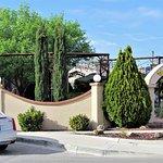 Entrance view, Yellow Brix, Carlsbad, NM