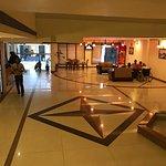 The 'airy' lobby
