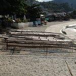 Fish drying in the sun - Chaloklum