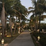 Walkway in the resort