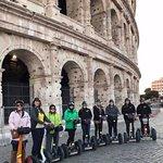 Photo de Rome by Segway