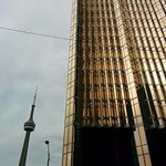 CN tower and RBC building
