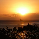 Sunrise from room balcony