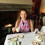 Fireside breakfast