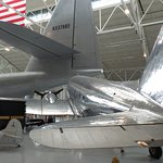 The DC-3 and the tail of the Spruce Goose