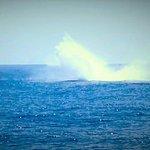 Huge splash from the breach!