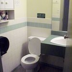 Ensuite toilet.  Shower just in corridor.