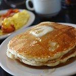 Pancake set breakfast.