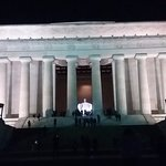 Lincoln Memorial (last stop on tour).