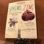 Spring Zing sign