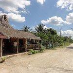 Repas chez l'habitant (communauté maya)