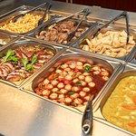 Dejlig varm kinesisk buffet