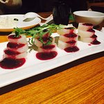 Chinese Yam with Blueberry jam