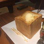 Ice Cream Toast (Soft Ice Cream melts into the Toast creates special taste)