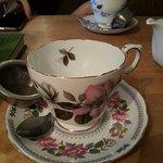 Pretty teacup