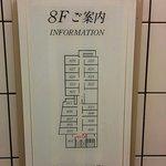 8Fの配置図
