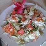 Tuna mayo salad.
