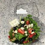 Healthy and fresh salads