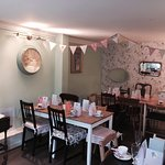 The lovely private dining room