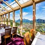 Restaurant Weitblick mit Blick übers Bündner Rheintal