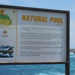 One of the stops is the Natural Pool - beautiful scenery there!