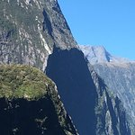 Spectacular scenery on the Milford Sound boat cruise