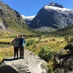 One of our rest stops on the road to Milford Sound.