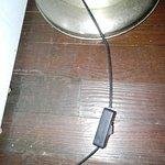 los cables de los artefactos estaban pelados