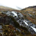 The wild natural beauty of the Highlands. Some waterfalls on our way during the tour.