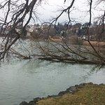 Luzern across the lake