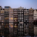 Amsterdam Central Reflections