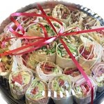 Wrap Platters, Focaccia Sandwich Platters made with Fresh Mozz for your parties