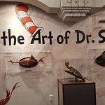 "Dr. Seuss's ""Taxidermy"" wall"