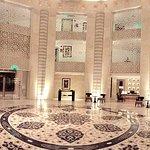 A beautiful hotel.