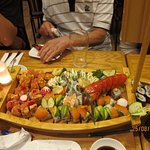 Superb sushi.