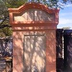 Exploring Lafayette cemetery.