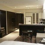 Spacious living room renovated