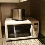 microwave inclujded in the kitchen