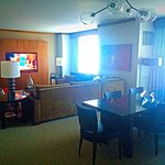 I highly recommend the Cottonwood Suite on the 35th floor. It's huge! 2 bathrooms, living room,