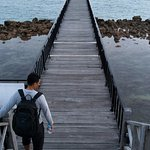The jetty.