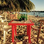 Foto de Public beach of Dominicus at Bayahibe