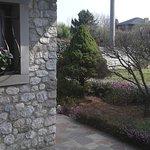 l'ingresso al giardino