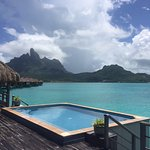 2 bedroom royal overwater villa pool
